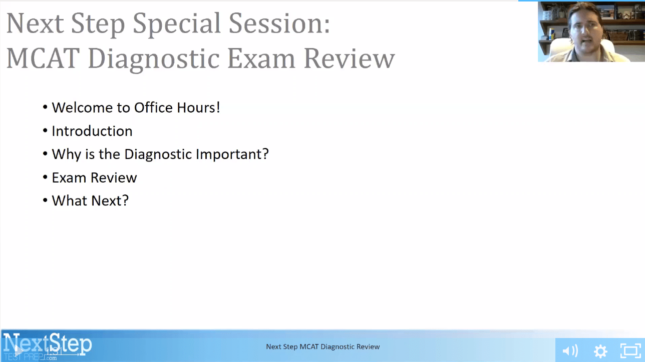 Mcat diagnostic review webinar next step test prep submit a comment cancel reply malvernweather Gallery